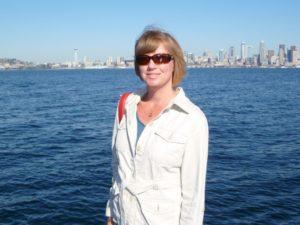 Anna at Alki Beach