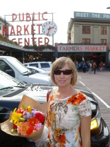 Anna at Pike Place Market