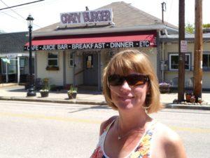 Anna at Crazy Burger