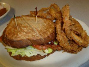 BLT at Becky's Diner