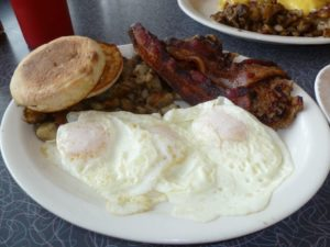Breakfast at Lake Effect Diner
