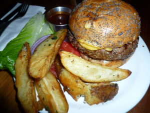 Burger at Naglee Park Garage
