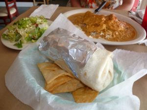Grilled Steak Burrito at 10th Ave. Burrito Co.