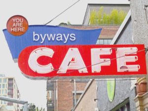 Byways Cafe Sign