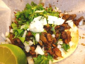 Taco Al Pastor at Cemitas Puebla