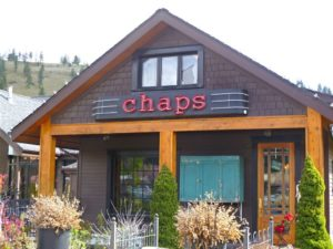 Chaps Front Sign