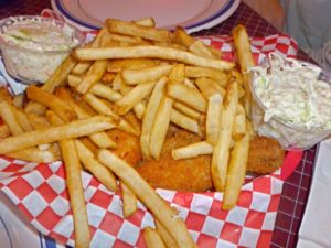 Chicken Basket at Dell Rhea
