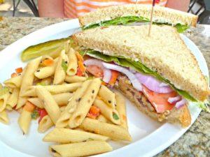 Chicken Salad Sandwich at Foolish Craig's