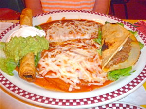 Combo Platter at Red Iguana