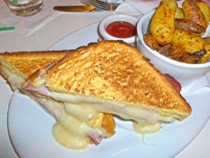 Grilled Cheese at Golden Bear