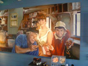 Mural at Bob's Clam Hut