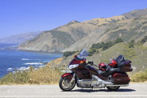 Gold Wing at Big Sur