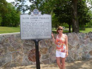 Anna at Graceland