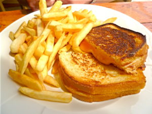Grilled Cheese at Rick's Press Room