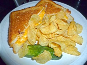 Grilled Cheese at Steuben's