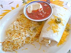 Breakfast Burrito at Jimmy's