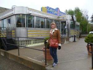 Anna at Lake Effect Diner