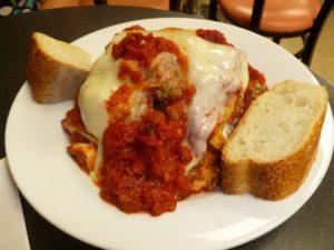 Lasagna at Di Pasquale's