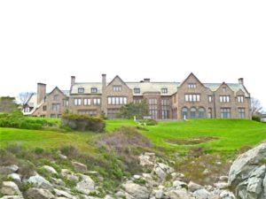 Mansion on the Cliff Walk