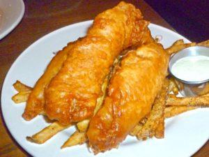 Fish and Chip at Memphis Taproom
