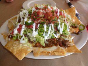 Nachos at 10th Ave. Burrito Co.