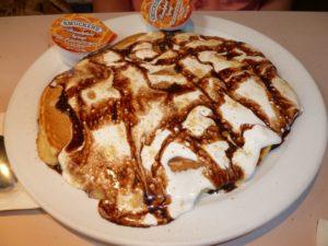 S'Mores Pancake at Frank's Diner