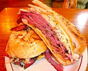 Chipotle Pastrami Sandwich at Sam LaGrassa's