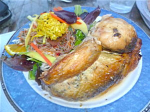 Roast Chicken and Salad at Pizzal-Chick
