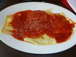 Ravioli at Tufano's