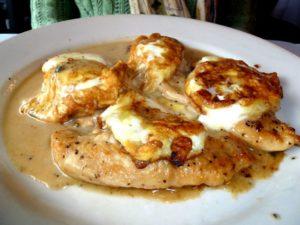 Chicken Dinner at Rino's