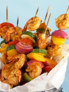 Grilled Shrimp Ka-bobs