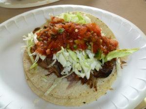 Taco Carnitas at Lito's
