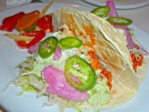 Tacos at Golden Bear