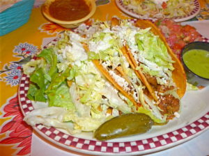 Tacos at Red Iguana