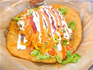 Indian Fry Bread Taco at Tocabe
