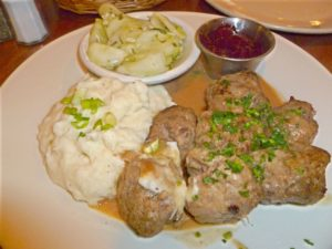 Swedish Meatballs at Tre Kroner