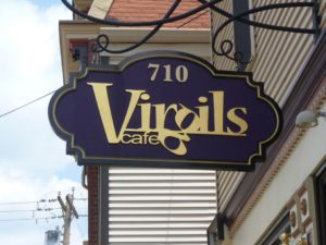 Virgil's Cafe Sign