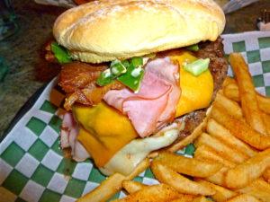 Big Dog Burger at Waddells