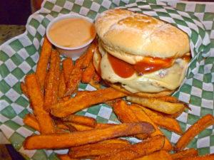 Back Draft Burger at Waddell's