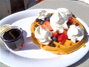 Belgian Waffle at Schooner or Later