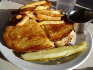 Grilled Cheese at Harry's