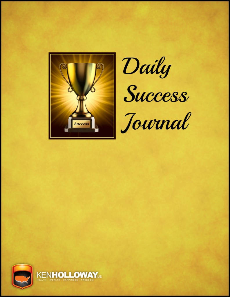 Success Journal Cover